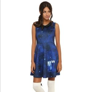 Doctor Who Galaxy Tardis Dress